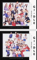 [PACK RENDER #102] 44 PNG (G)I-DLE by RinYHEnt