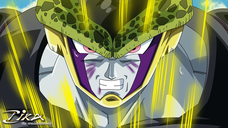 Perfect Cell Angry-DBZ by zika-arts