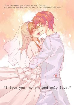 I love you, my one and only love. by cb-sky