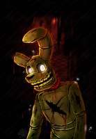 springtrap by thepipefox