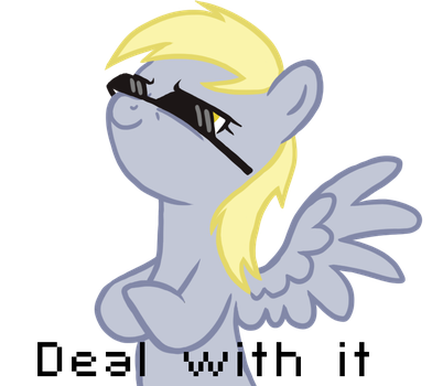 Deal with it by Blackfeathr
