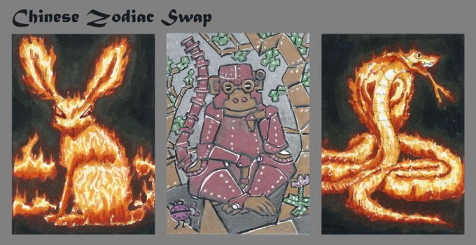 Chinese Zodiac Swap by Tamara-Hawk