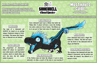 SHOKUBELL Must Haves [Species Guides 3] by Cachomon