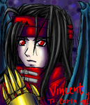 Vincent Valentine-Oekaki gift by silent-mooby