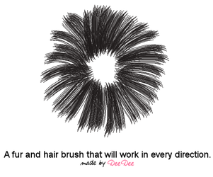 Hair-Fur brush any direction by DeeDeeProductions