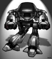 ED-209 by CerberusLives