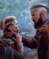 Ragnar and Lagertha by SigmaK