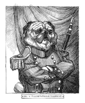 Colonel V. P. Puggerkins by shoomlah
