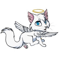 Angel |Castle Cats| by BlackOutlet