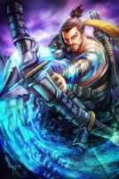 Overwatch - Hanzo by AIM-art