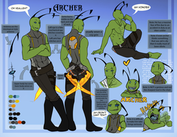 Archer Reference Sheet by Octeapi