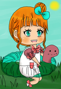 Braelyn Pippo Chibi by A-k-a-t-s-u-k-i