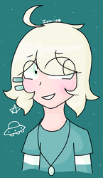 unidentified flying smol by Iowrie
