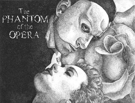 ++Phantom of the Pointillism++ by Grincha