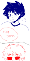 Johndave the comic by Simplyleek