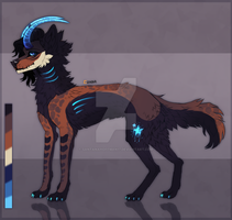 + Blue Star + canine adoptable 10$ |CLOSED| by SantanaHoffman17