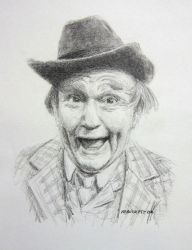 Red Skelton by mbeckett