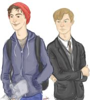 Peter And Harry by nocte-furor