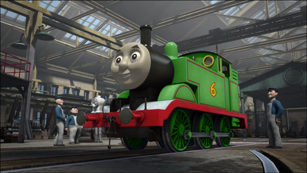 Number 6 Green Tank Engine by The-ARC-Minister