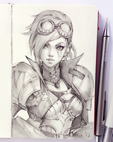VI from League of Legends by Ladowska