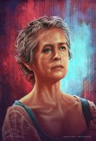 Carol Peletier by cmloweart