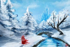Winterfield by Aon616