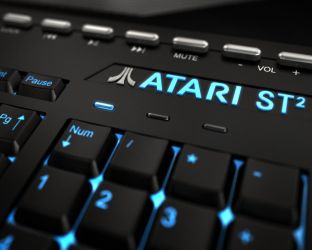 Atari St2 Closeup by svenart