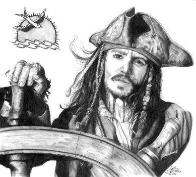 Captain Jack Sparrow by FreedomSparrow3