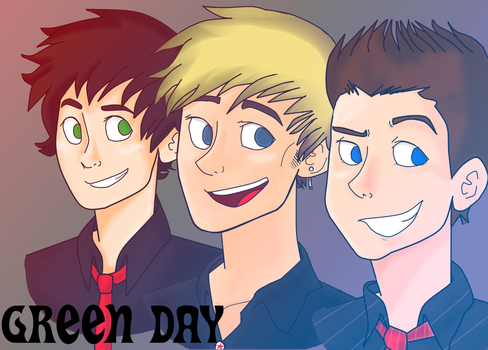 GREEN DAY by lewisrockets