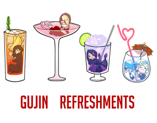 Gujin Refreshments by Zennore