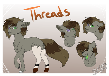 Commission for JaegerPony [Reference Sheet] by BlueSideArts