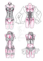 Corset - home works by Alzheimer13