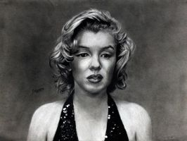 Marilyn by Surreal-Portrait