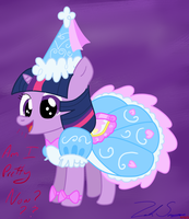 :RQ: Young Twilight In A Dress by HuskyLeafStudios
