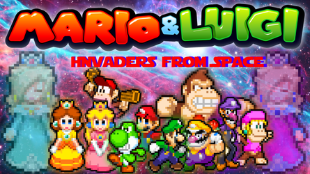 Mario and Luigi: Invaders from Space (Part 1) by SuperShadeMario