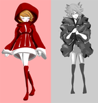 Riding Hood Outfits by khiro