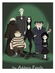 the Addams Family by BrianMainolfi
