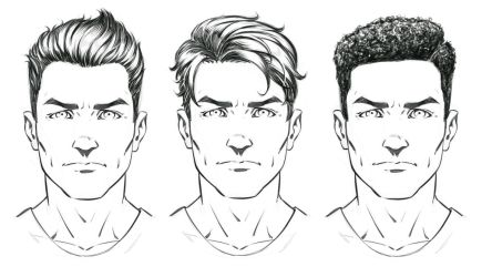 How to Draw Comic Style Hair - Male Characters by robertmarzullo