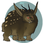Sable Abominable Chupacabra by ReapersMenagerie