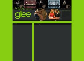 Ordered layout - Glee by JulieKrocova
