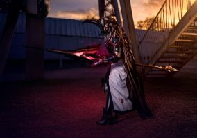 Aranea Highwind cosplay - Final Fantasy XV by VikisCosplayology