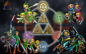 Legend Of Zelda Colouge(Link) By Zac--Attack by Zac--Attack