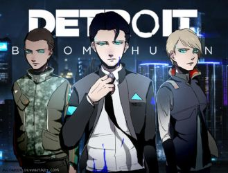 Detroit: Become Human by Alloween