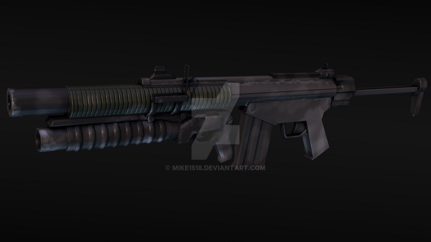 Colonization - N-97 Assault Rifle Grenadier by Mike1518