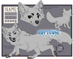 ( P2U ) Giant Fox Adoptable Base! - Lowered Price~ by gloomyguts