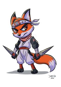 Ninja Fox by hamex