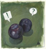 The Perplexed Plums by zyphryus