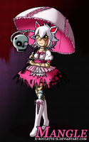 FNAF Human!Mangle (Female Ver.) by Duck-Roulette