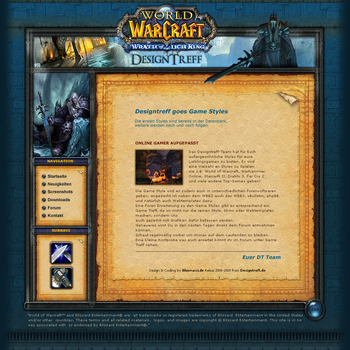 WoW Lich King Template by Bluevacci