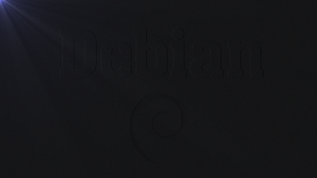 Debian Linux Wallpaper by Lukazoid